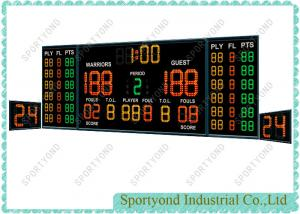 China Indoor Room Electronic Basketball Scoreboard with Shot Clocks Board on sale