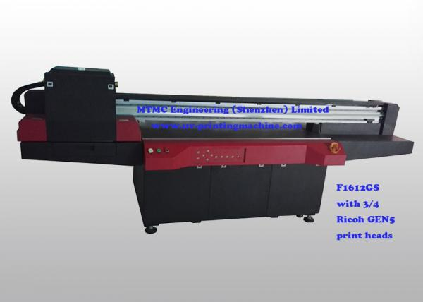 Remote Control, Keypad Flatbed 3D UV Printer With Ricoh GEN5 Print