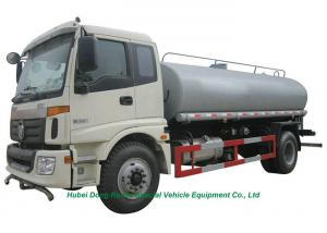 China FOTON  Road Clean  Water Tank Lorry 12000L  With  Water  Pump Sprinkler For ?Water Delivery and Spray on sale