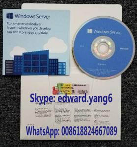 China Server 2016 R2 Genuine /Original License Key Code Coa Sticker & DVD& Sealed package on sale