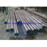 Chemical 6 Inch Steel Round Pipe , Weld Titanium Thin Wall Steel Pipe