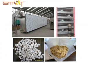 China Breakfast Cereal / Corn Flakes Two Screw Extruder , SS Food Grade Extruder on sale
