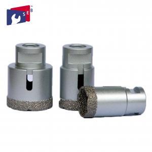 China M14 Connection Vacuum Brazed Diamond Tools Diamond Vacuum Brazed Hole Saw on sale
