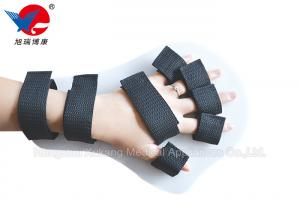 China Great Ventilation Black 5 Finger Splint Brace As Important Therapeutic Appliance on sale