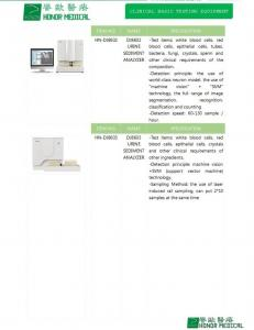China URINE SEDIMENT ANALYZER on sale
