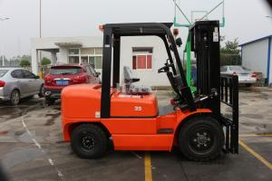 China Compact FD30 CPCD30 forklift  3ton economic  2stage 3m container mast  and side shift  Diesel forklift with isuzu engine on sale