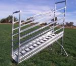 3250x3250x1700mm Australia Standard Hot Dippd Galvanized Standard Cattle Ramp