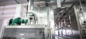 China Herb Drying Food Production Machines Carbon Steel Material Large Capacity on sale