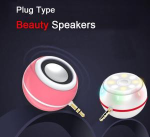 China China Factory Whoelsale Selfie Spotlight Beauty Speaker with usb port external mini speaker on sale