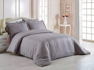 China Comfortable Hotel Bed Linen , 400T 3cm Satin Stripe 100% Cotton Bedding Sets on sale
