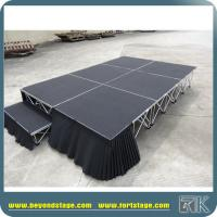 China Mobile stage with skirting for sale on sale