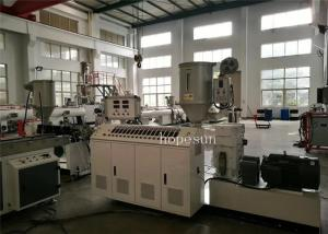 China Thermoplastic Small Plastic Extrusion Machine Bonded PVC Material Weathering Proof on sale