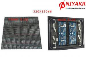 China Full Color DIP 1R1G1B Front Service LED Display , Front Service LED Sign on sale