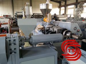 China PE PP PVC Pipe Manufacturing Machine / Corrugated Pipe Making Machine on sale