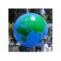 Helium PVC Air Tight Earth Balloon Advertising Inflatable Sphere Ball