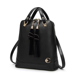 e8ba66805d Quality 27   30   12 Cm Fashion Ladies Backpack Tassel Decoration With  Premium PU for ...