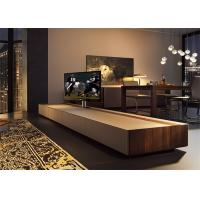 Fashion Style Modern Hotel TV Cabinet With Drawers High Standard Customized Size