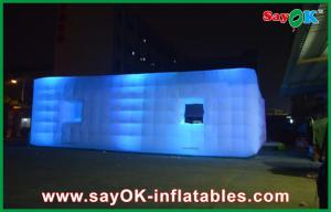 China Led Shower Luxury Hotel Tent Inflatable Photo Booth For Advertising / Outdoor on sale