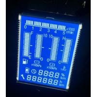 Blue Lcd Display Panel , Tft Display Panel For Heavy Duty Truck