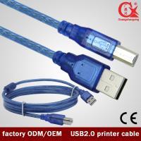 1.5m Blue USB 2.0 printer cable for printer/scanner