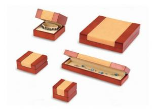 China Professional Redearring Organiser Box , High - Grade Rectangle  Fancy Gift Boxes on sale
