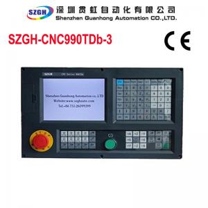 China 128M Memory 3 Axis CNC Lathe Controller 0-10V Analog voltage output on sale