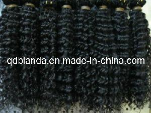 China Remi Kinky Curly Human Hair Bulk on sale