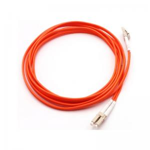 China Durable Optical Fiber Patch Cord Fiber Jumper Cable LC To LC LSZH CPR Approval on sale