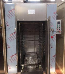 China Stainless Steel Industrial Food Dehydrator 60kg Drying Oven Hot Air on sale