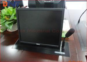 China Audio Conference System Computer Monitor Lift , Motorized LCD Lift Mechanism on sale
