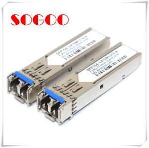 China Finisar 10G SR Optical Fiber Transceiver Mini GBIC Compatible Alcatel-Lucent SFP-10G-SR on sale