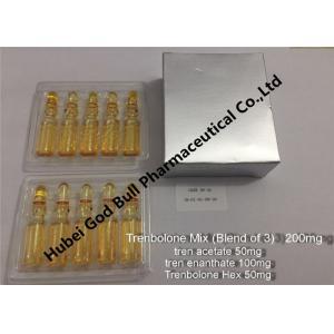 China Trenbolone acetate 100mg/ml 1ml/vial anpoule bottle grape seed oil based on sale