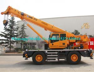 China Brand New 30 Ton 35 Ton Mobile Crane , RT35 Zoomlion Truck Crane 46m Lifting?Height on sale