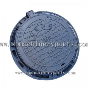 China Factory Direct Selling EN124 Ductile Iron Sand Casting Manhole Cover Make In China supplier