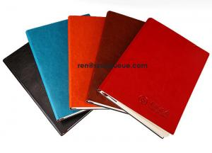 China Wholesale leather Paper notebook with factory price on sale