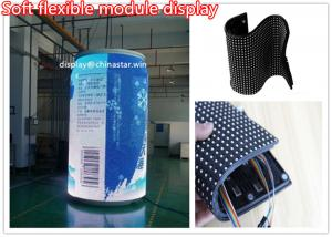 China High Definition lightWeight 3mm Flexible LED Screen For Video , Energy saving on sale
