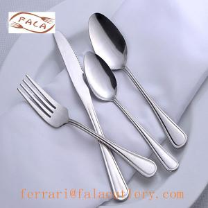 China New Charm Logo Engraved Copper Stainless Steel Cutlery on sale