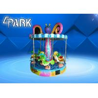 China Children's play equipment coin-operated 9-person ocean turn horse on sale
