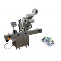 China 1000mm×450mm Size Flat Bags Automatic Flat Surface Label Applicator For Top Side on sale