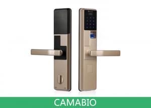China CAMA-C010  Keyless Biometric Fingerprint Door Lock With RIFD Card|Password|Mechanical Key on sale