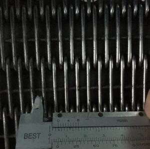Quality Carbon Steel Eye link Mesh Conveyor Belt / Loop Joined Wire Belt For Shrink Packing Machine for sale