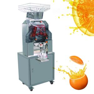 4 Wheel Fiberglass Commercial Cold Pressed Juicer Machine For Zummo