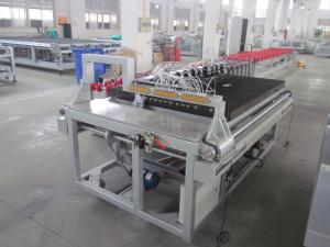China Manual Glass Cutting Machine,Semi-Automatic  Glass Cutting Machine  with Glass Breaking on sale