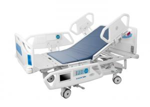 China Eight Fucntion ICU Electric Hospital Bed With X-ray Function Chair Position on sale