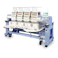China Cap And T - Shirt Multi Head Embroidery Machine Computer Controlled Highly Precision on sale