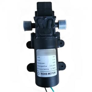 China Small Diaphragm Electric Water Pressure Washer Pump / Self Priming 24v Dc Water Pump on sale