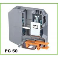 China Din-rail Terminal Wire arrage:0.2-50mm2 Part No.PC50 on sale