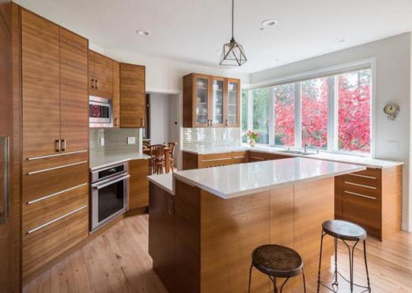 Grey Color Man Made Natural Quartz Countertops For Kitchen ...