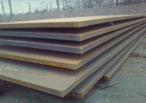 China Q235 Q345 B C D E cold rolled / hot rolled alloy steel plate thickness 6 - 80mm on sale
