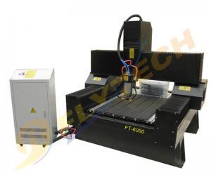 China router de piedra tamaño pequeño del CNC de la máquina de grabado 6090 para el mármol y el granito on sale